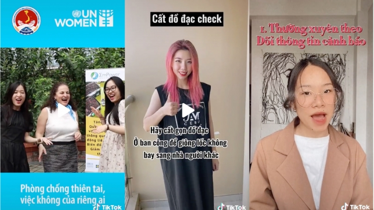TikTok Vietnam hosts video contest to raise awareness of climate change threat