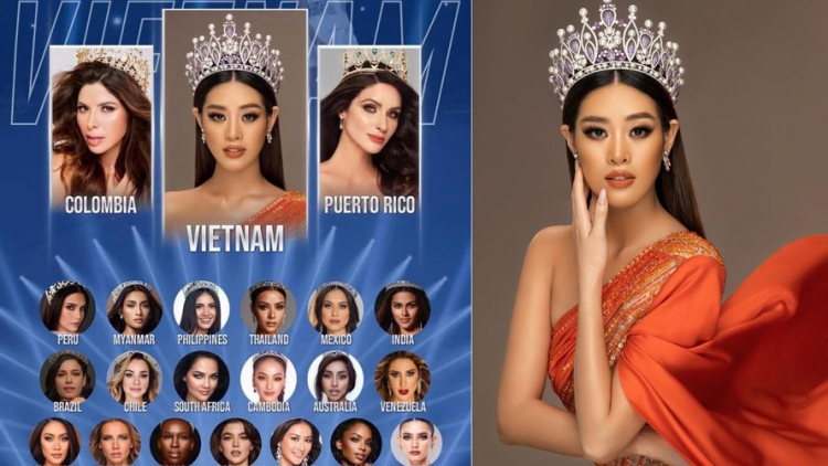 Khanh Van predicted to win top spot at Miss Universe pageant