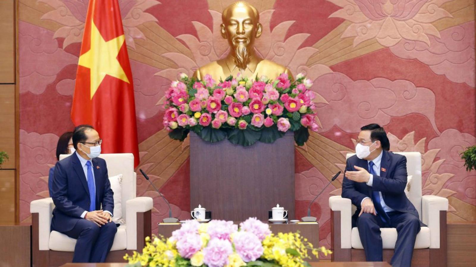 NA Chairman lauds strong Vietnam-Cambodia ties