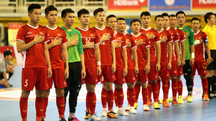 Vietnam beat Iraq in friendly ahead of Futsal World Cup play-offs
