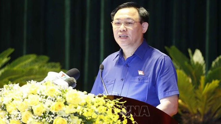 NA Chairman meets with voters in Hai Phong