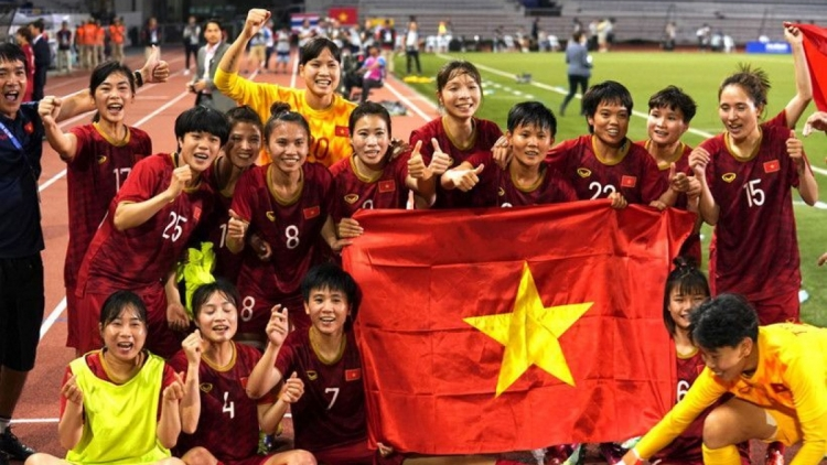National women's football team climb one place in latest world rankings