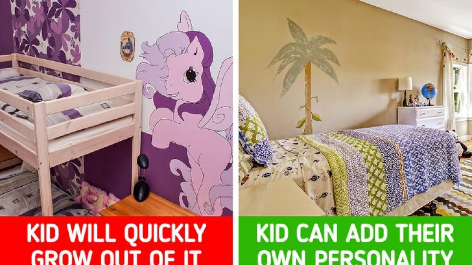 """Trang trí phòng ngủ cho trẻ: Hãy """"bỏ túi"""" những bí quyết sau"""