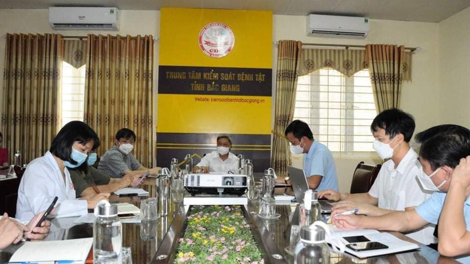 Bộ Y tế: Bắc Giang khẩn trương hoàn thiện chiến lược xét nghiệm