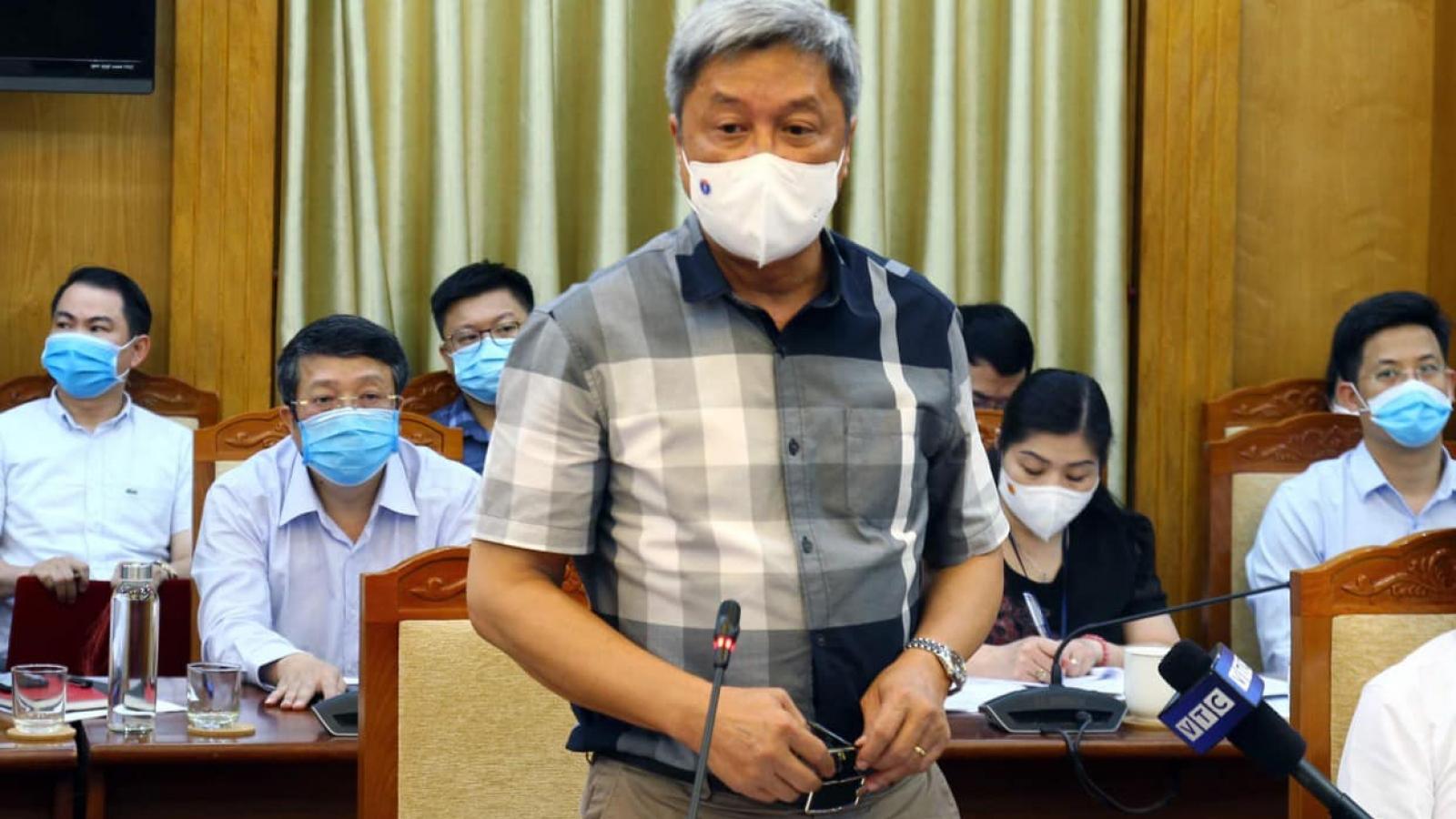 Bộ Y tế điều động 1.000 người hỗ trợ Bắc Giang chống dịch COVID-19
