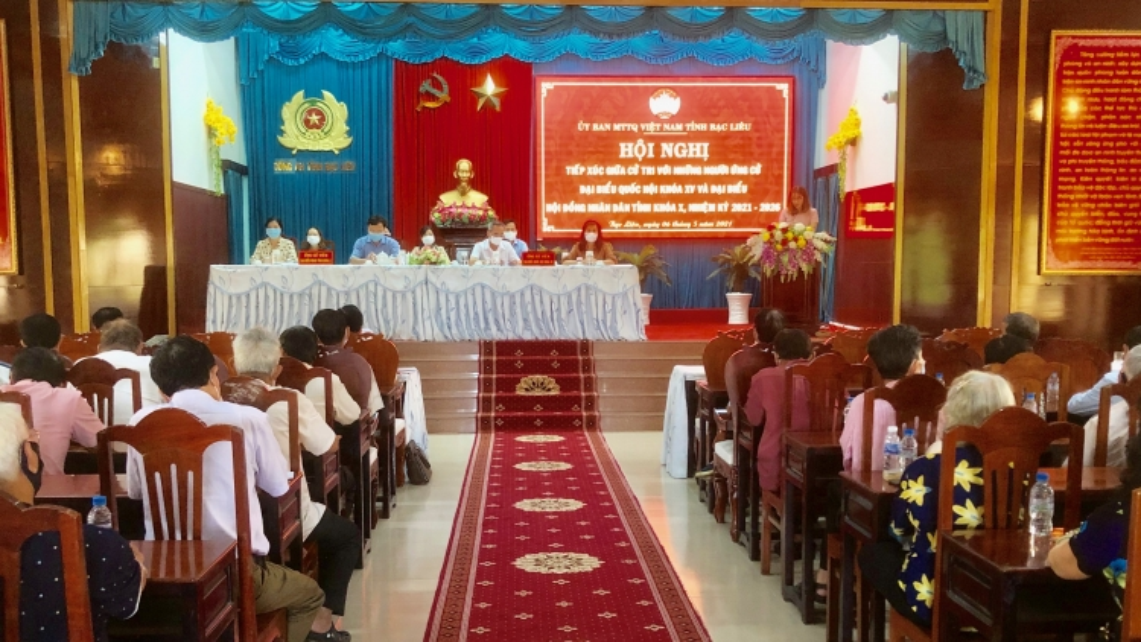 Ứng cử viên Đại biểu Quốc hội nêu chương trình hành động trước cử tri Bạc Liêu