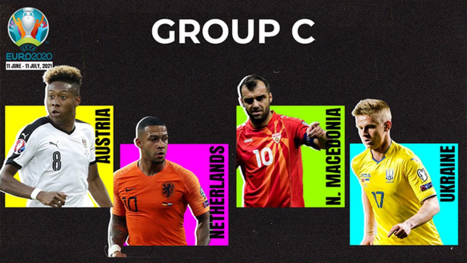 Lịch thi đấu bảng C - EURO 2020: Khó cản bước Hà Lan?