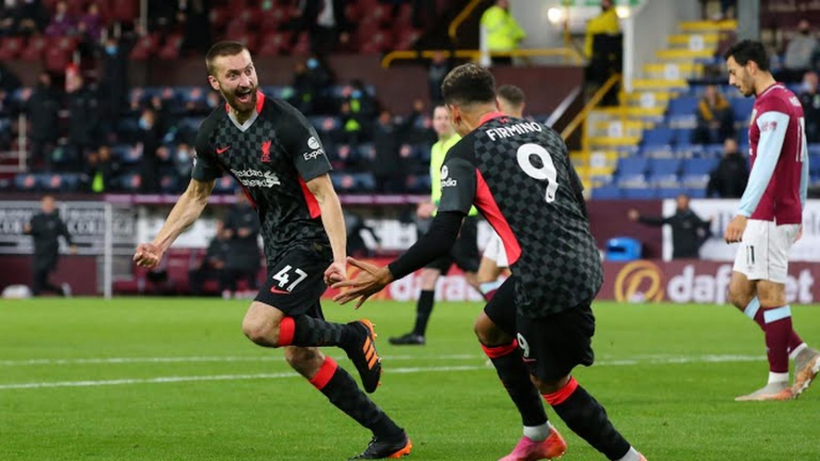 Bảng xếp hạng Ngoại hạng Anh sau vòng 37: Liverpool vào tốp 4, Leicester City nguy to