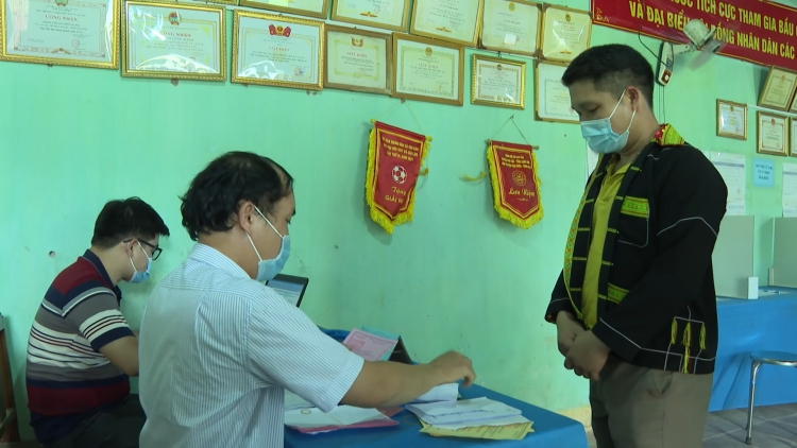 Xã biên giới miền núi Cao Lâu (Lạng Sơn) hoàn thành bầu cử