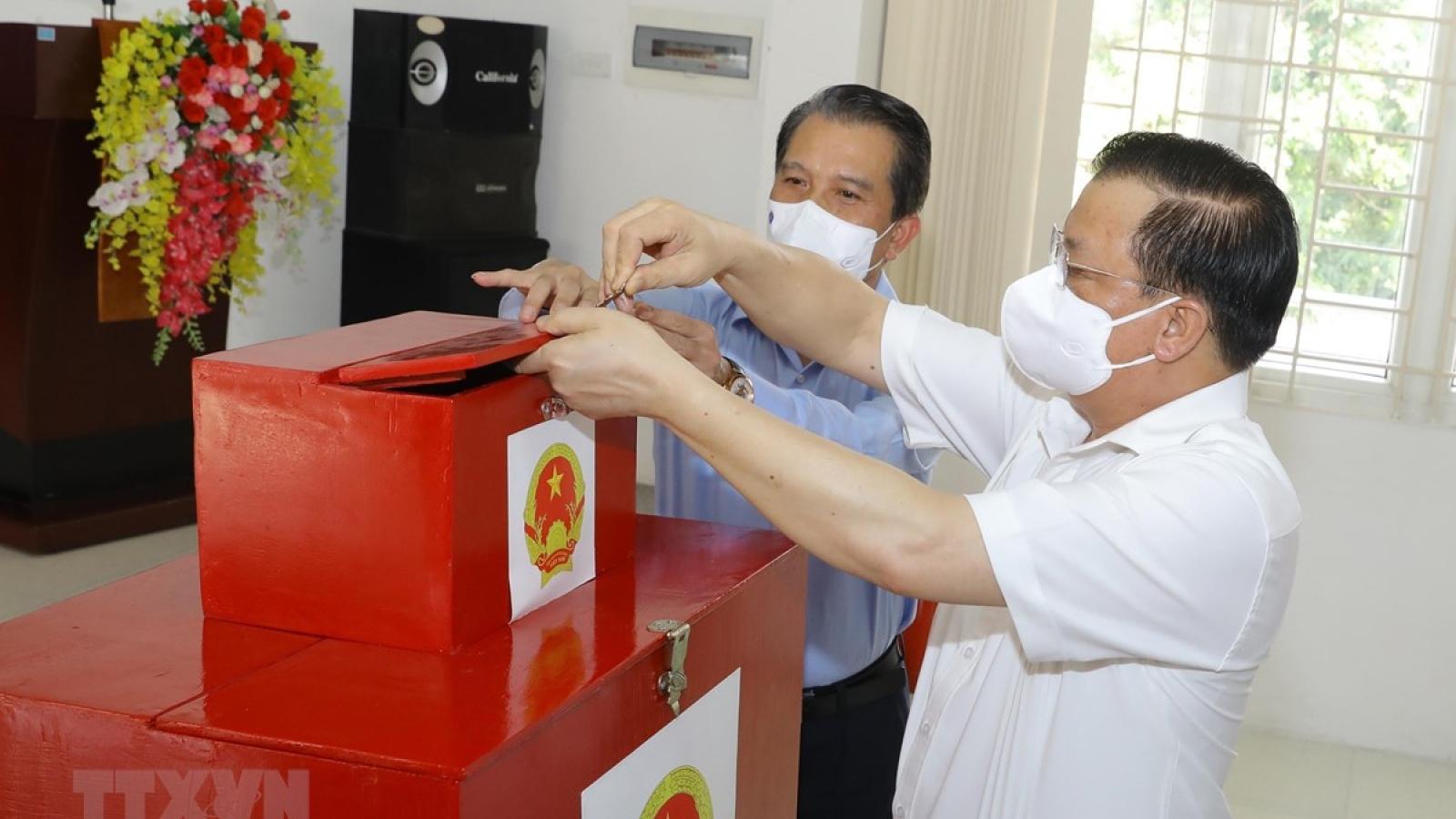 Trên 69 triệu cử tri trên cả nước sẽ thực hiện quyền bầu cử