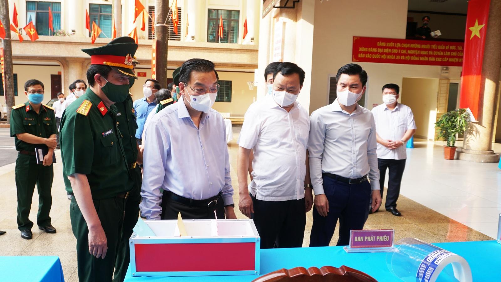 Chủ tịch UBND TP Hà Nội: Để bầu cử an toàn, phải làm tốt từng chi tiết nhỏ nhất