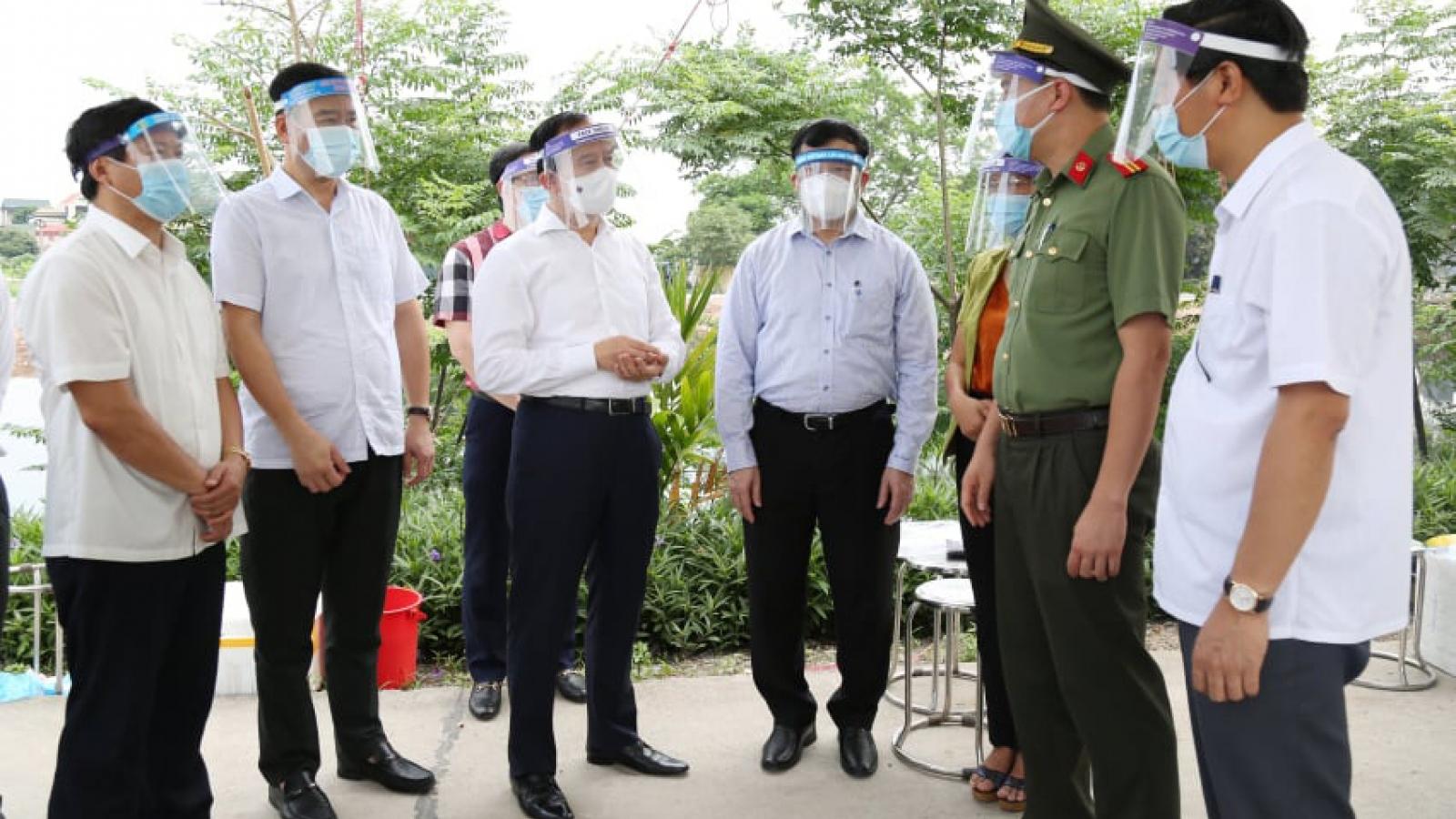 Chủ tịch HĐND TP Hà Nội kiểm tra công tác bầu cử tại huyện Thường Tín