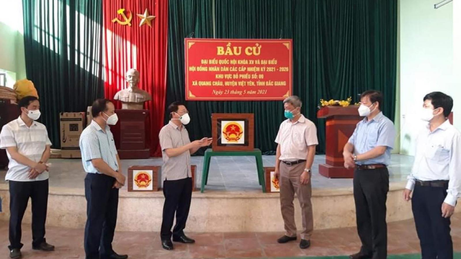 Bộ Y tế hỗ trợ Bắc Giang đảm bảo an toàn chống dịch COVID-19 trong bầu cử