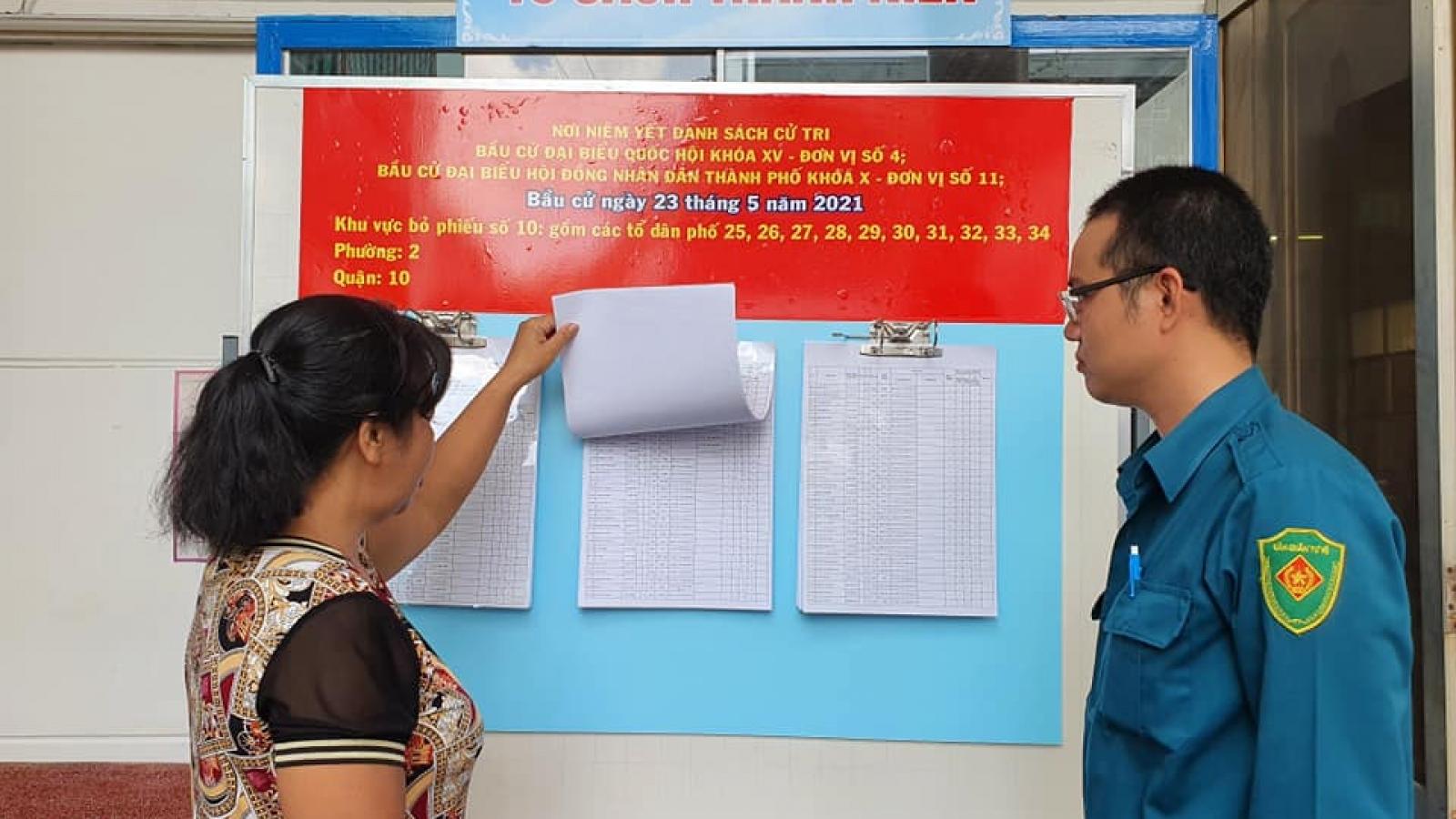 Kế hoạch ứng phó với dịch Covid-19 tại các điểm bỏ phiếu ở TPHCM