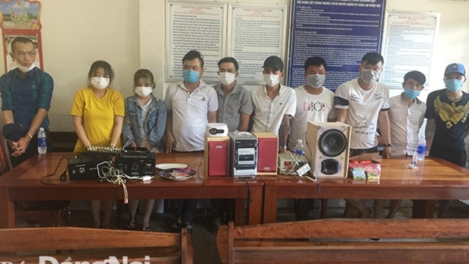 Nam thanh niên ở Đồng Nai thuê nhà để mở dịch vụ bay lắc
