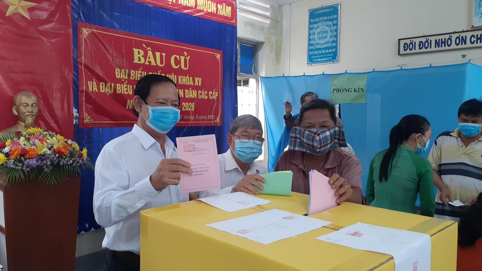 Tiền Giang và Bến Tre công bố kết quả bầu cử HĐND tỉnh