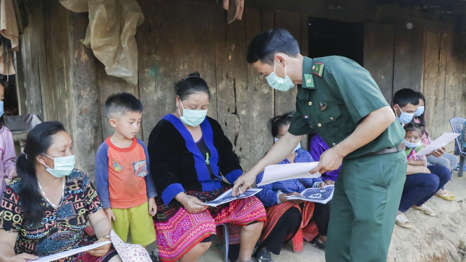 Đẩy mạnh tuyên truyền để người dân biên giới Điện Biên tham gia bầu cử 100%