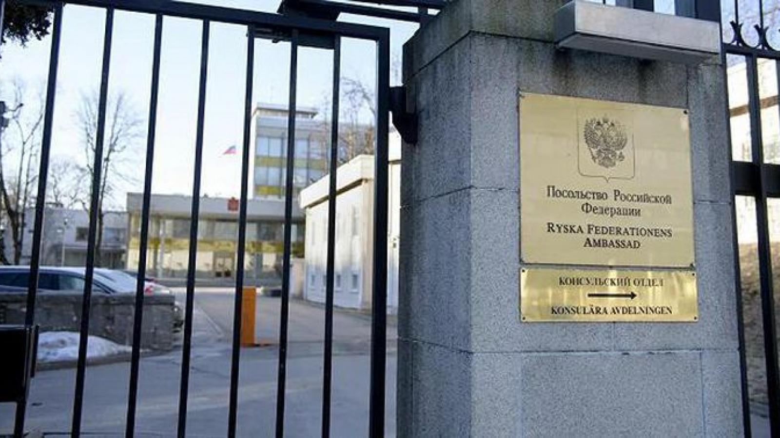 Thụy Điển triệu tập đại sứ Ngavề việc Moscow trừng phạt 8 quan chức EU