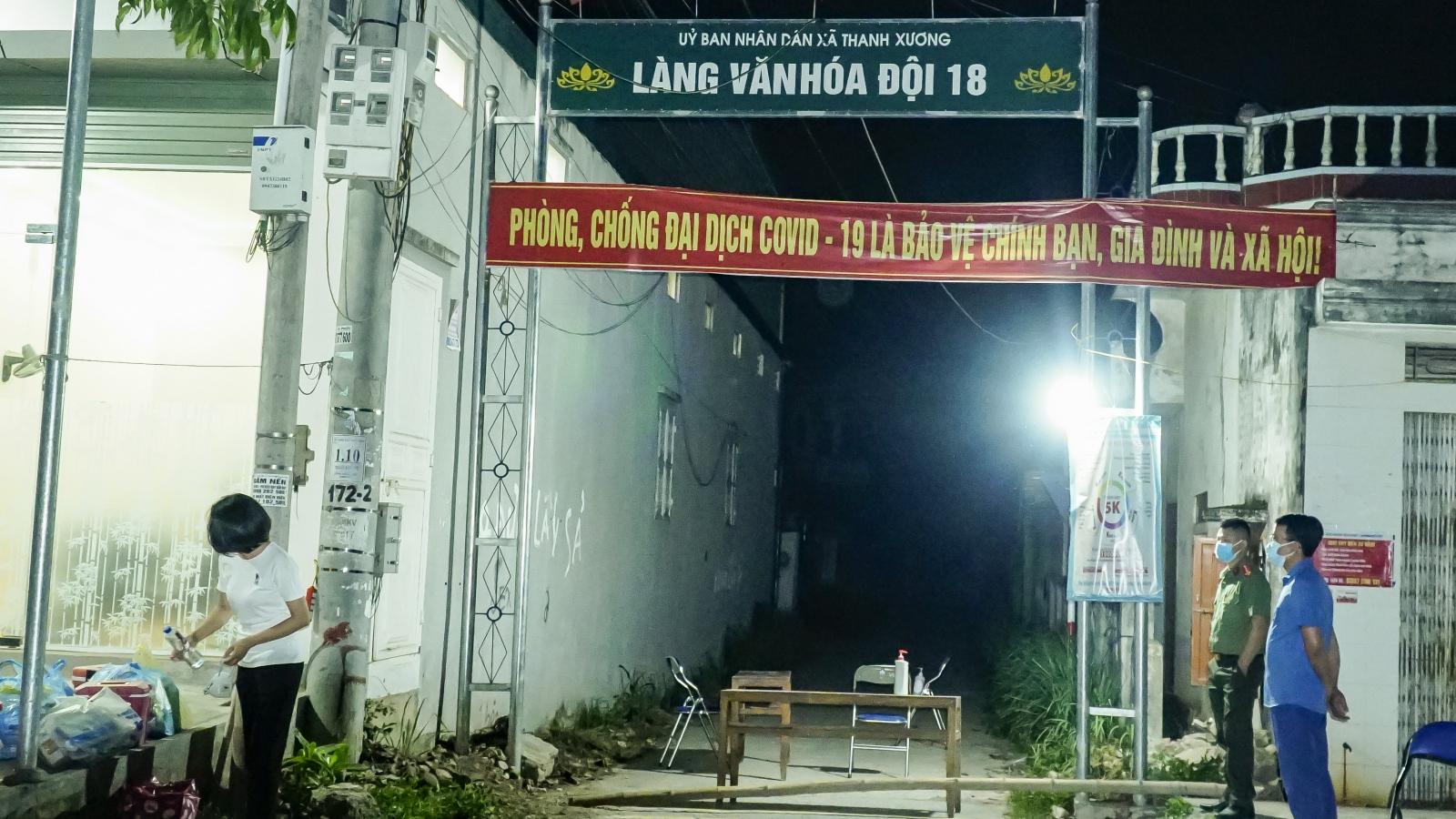 Điện Biên phong tỏa tạm thời khu vực sinh sống của bệnh nhân 3353