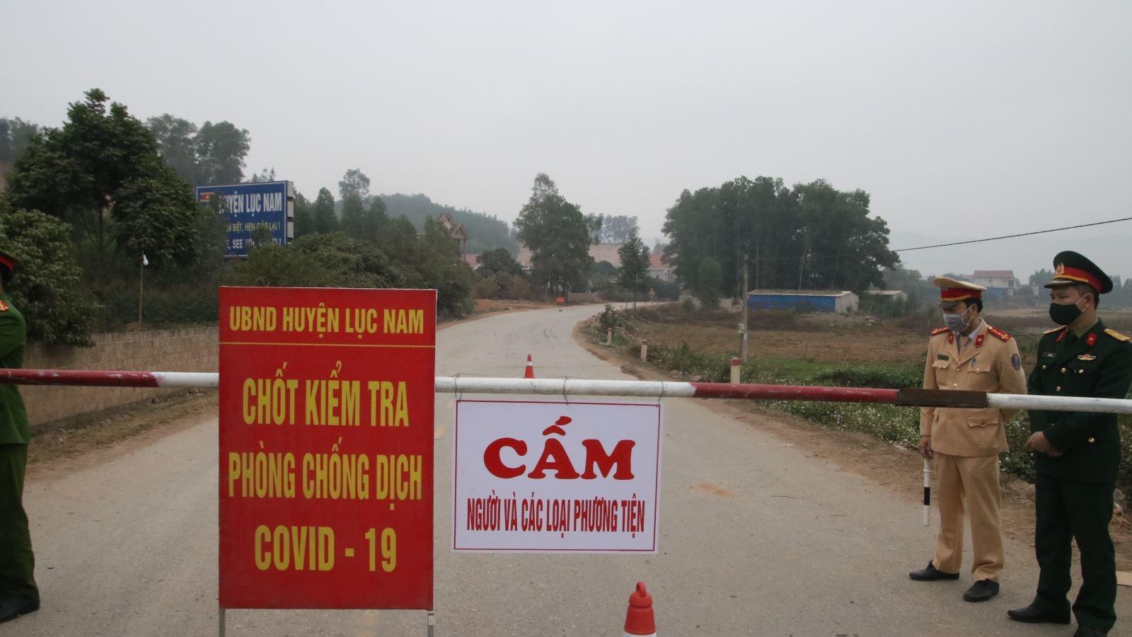 Bắc Giang khẩn cấp giãn cách xã hội toàn huyện Tân Yên