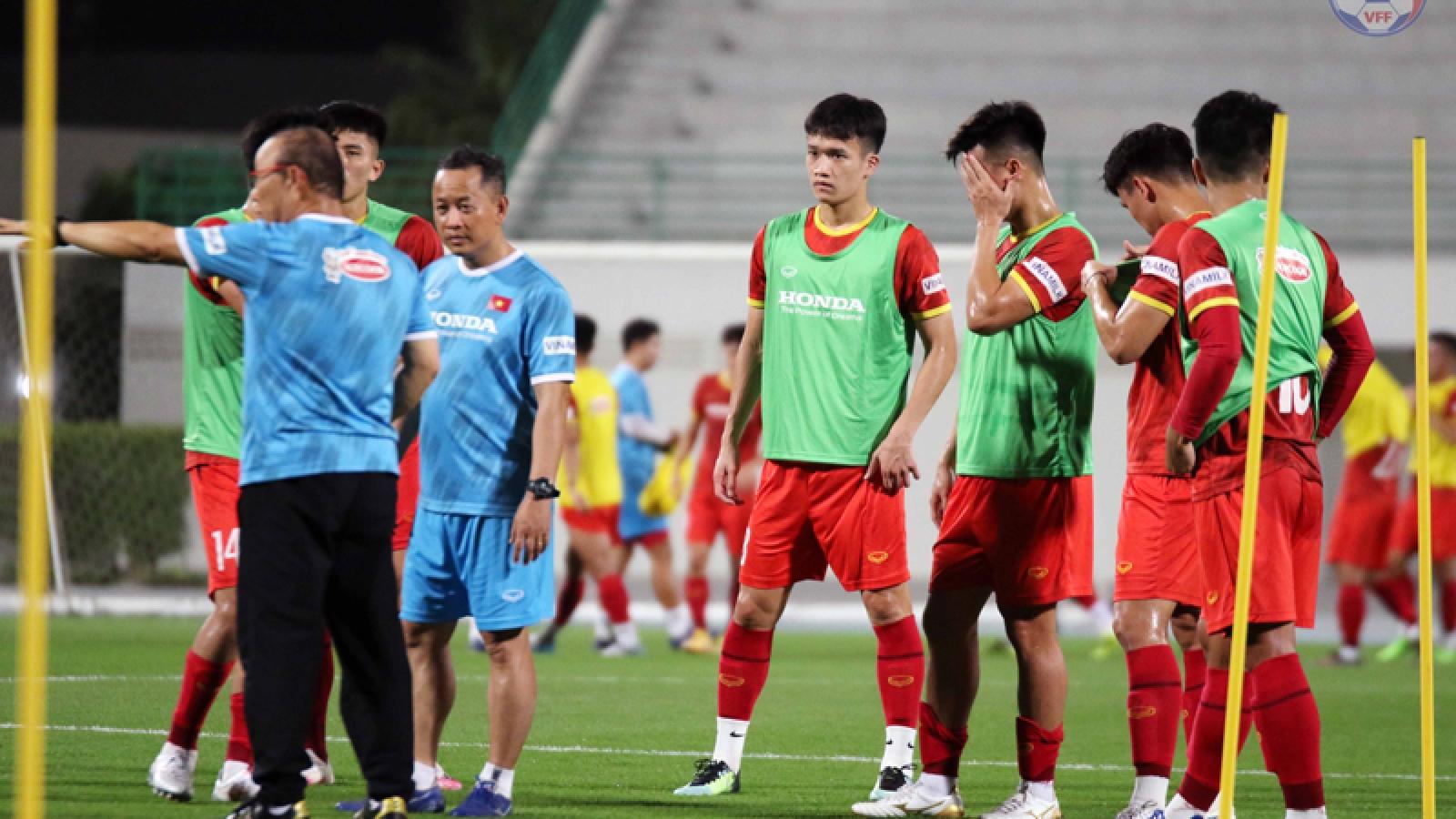 HLV Park Hang Seo tiết lộ người đá thay Hùng Dũng ở vòng loại World Cup 2022