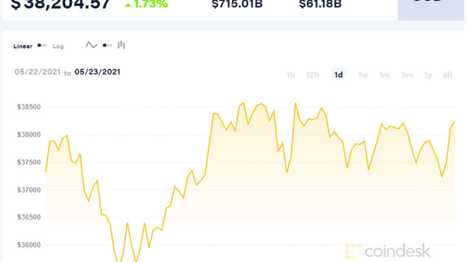 Đối diện điều khủng khiếp, Bitcoin mất giá gần một nửa