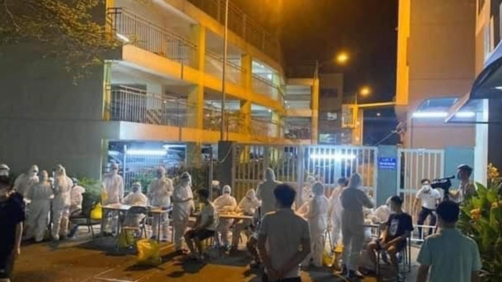 Bắc Ninh lập khu cách ly 1.300 người trong ký túc xá công ty Canon