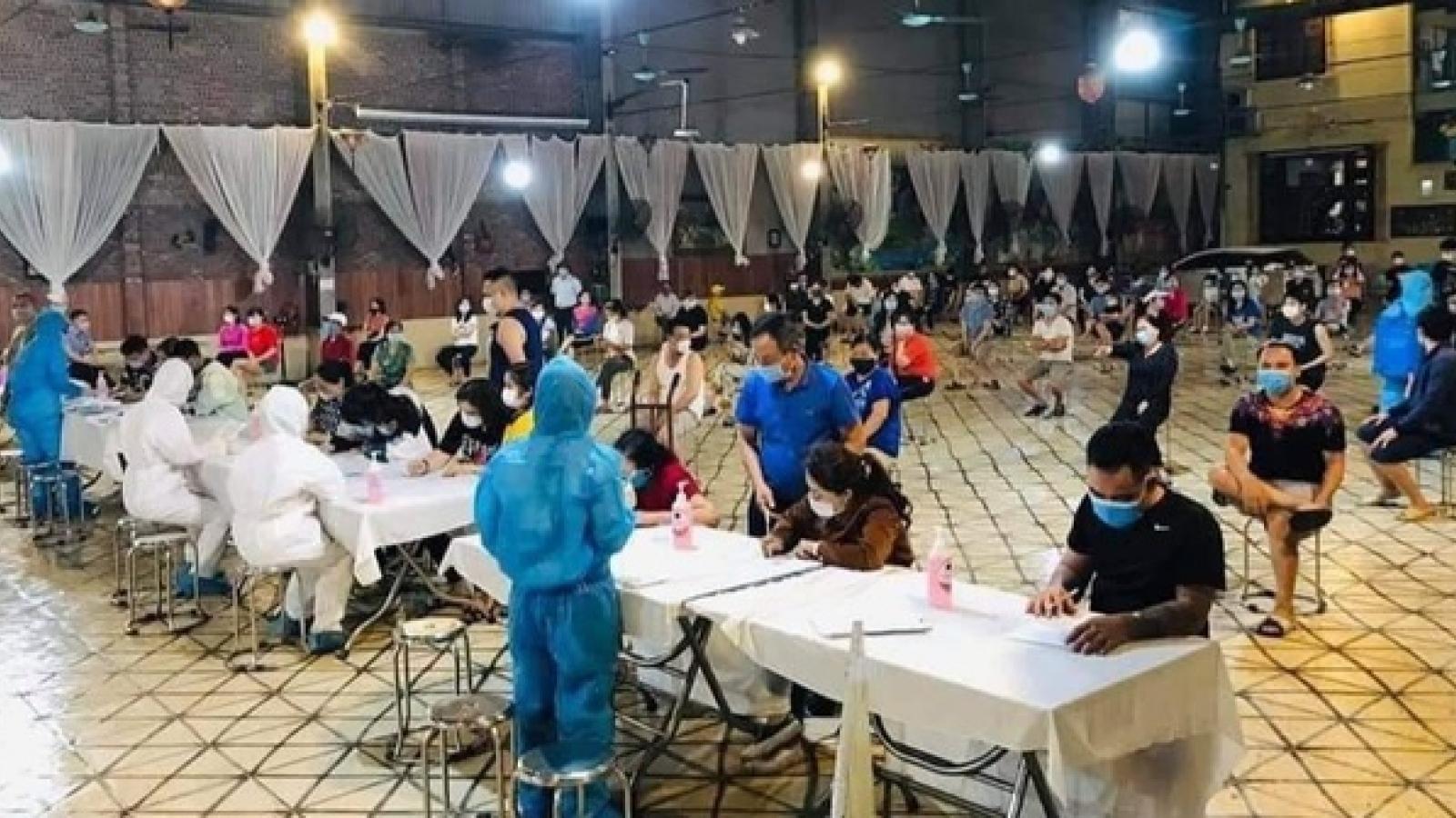 Bắc Ninh thêm 30 ca dương tính với SARS-CoV-2, Thuận Thành vẫn là điểm nóng