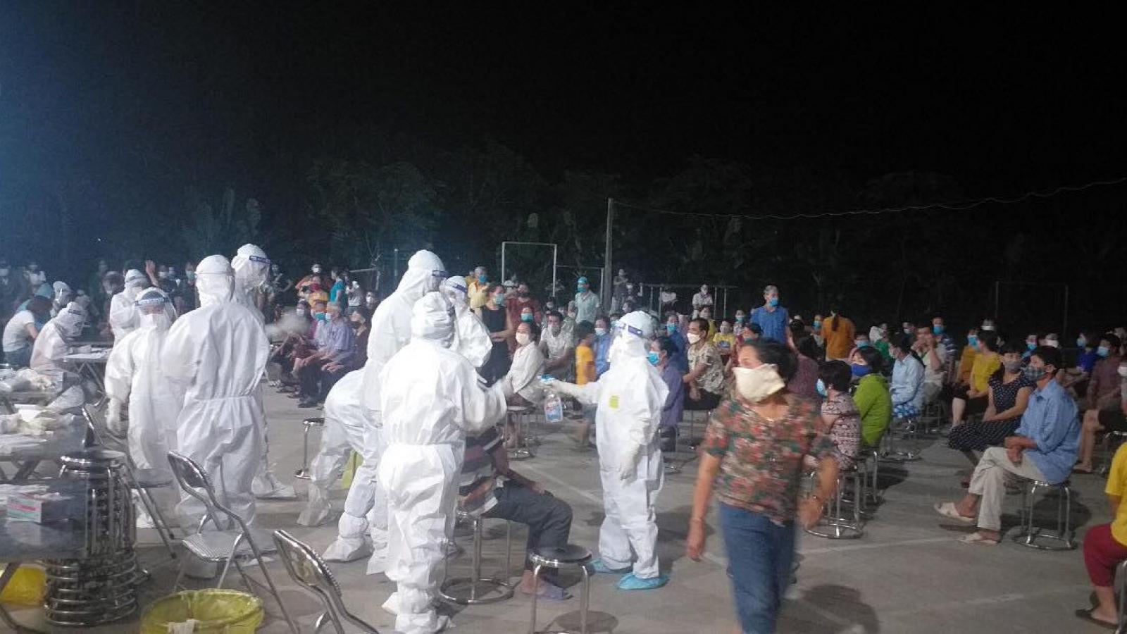 Bắc Ninh thần tốc truy vết chùm ca bệnh tại Công ty Spica Elastic Việt Nam