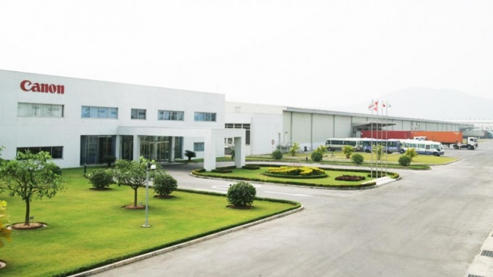 Bắc Ninh kết thúc cách ly y tế khu Ký túc xá của Công ty Canon Việt Nam