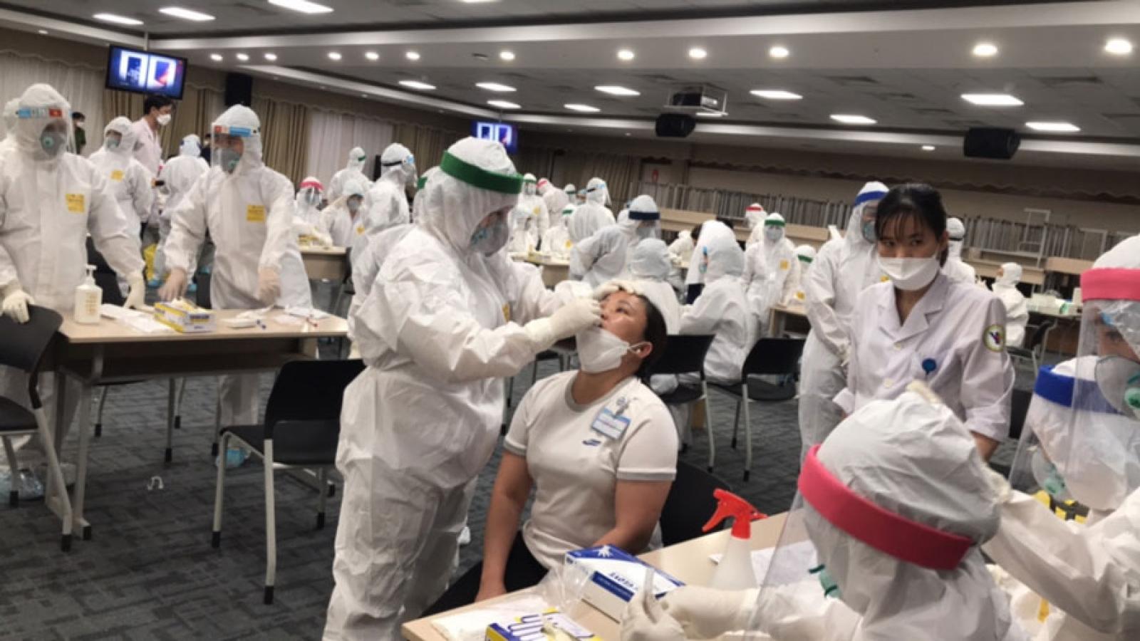 Bắc Ninh chia 3 nhóm đối tượng theo cấp độ nguy cơđể xét nghiệm Covid-19