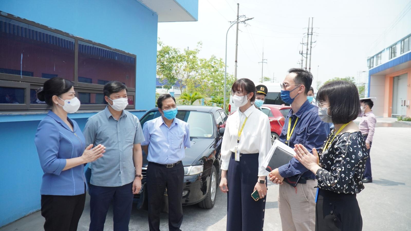 Công nhân tại Bắc Ninh sẽ ăn, ở, làm việc trong nhà máy từ 2/6
