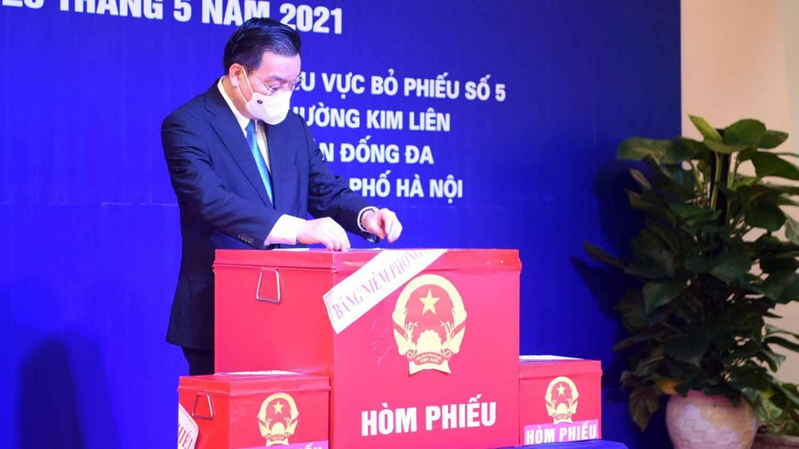 Chủ tịch Hà Nội: Quyết tâm tổ chức tốt cuộc bầu cử, lựa chọn những đại biểu xứng đáng