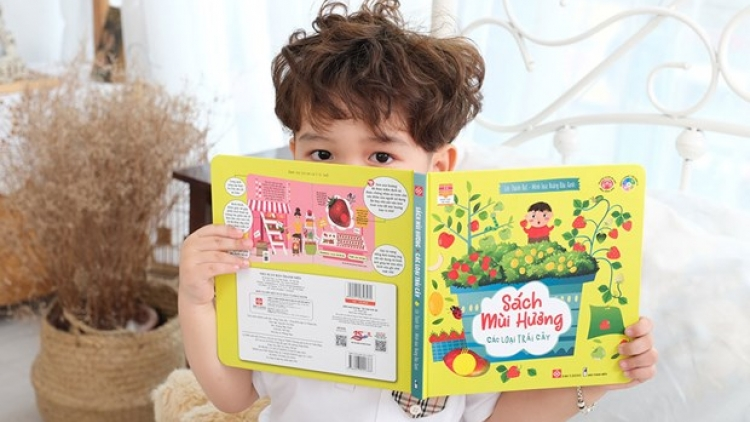 Scented books for kids make debut