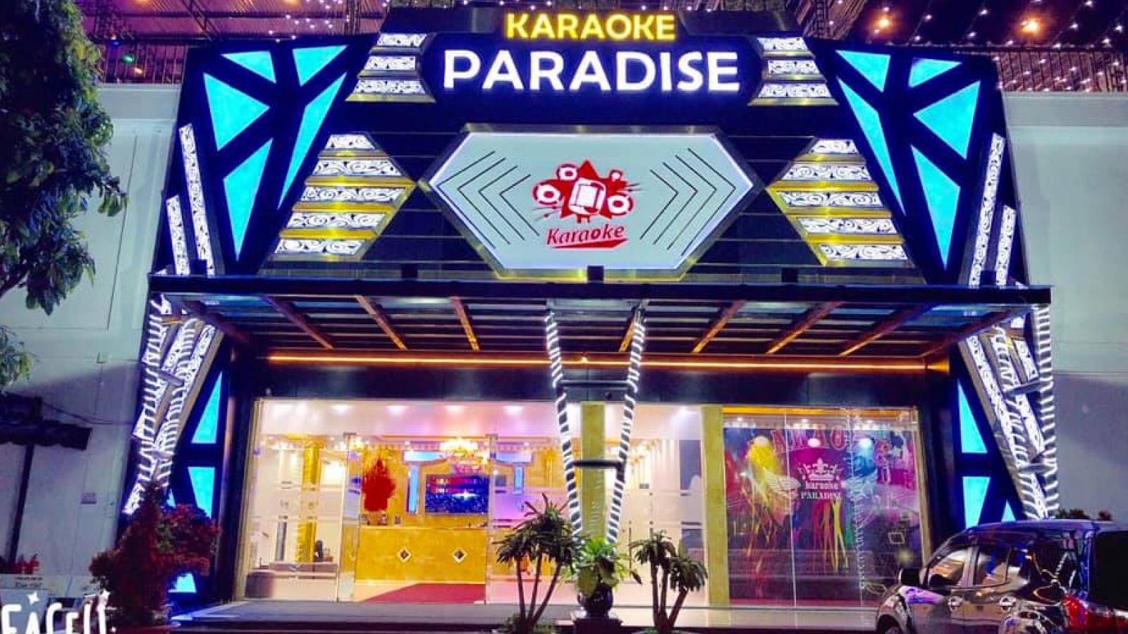 Bình Phước tạm dừng hoạt độngquán bar, karaoke để phòng chống dịch