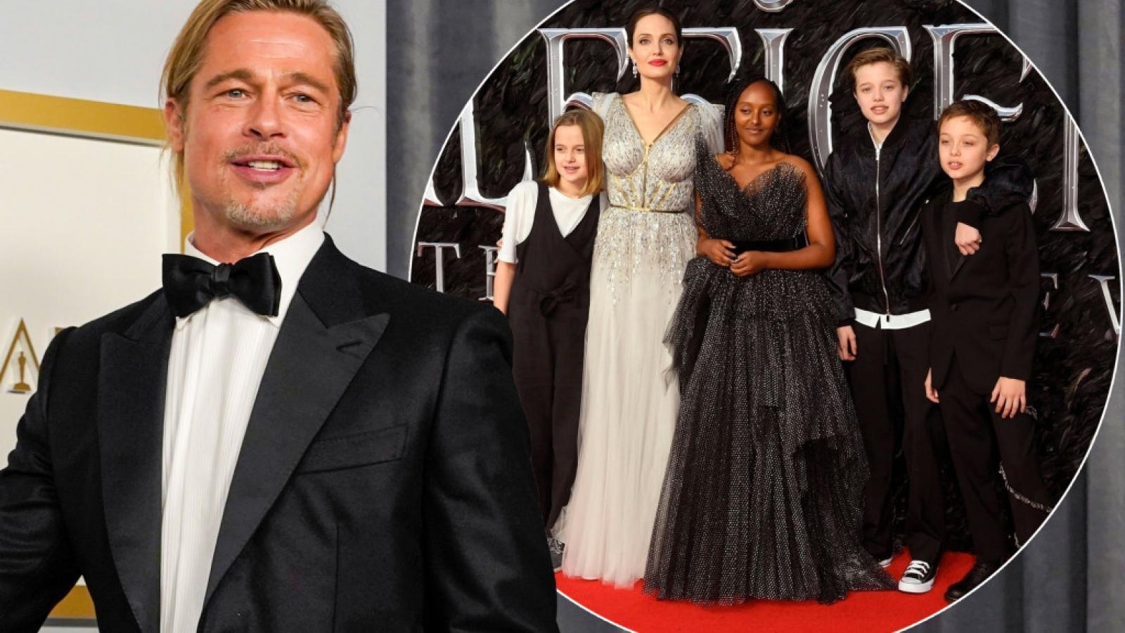 Brad Pitt thắng kiện vụ tranh chấp giành quyền nuôi con với Angelina Jolie