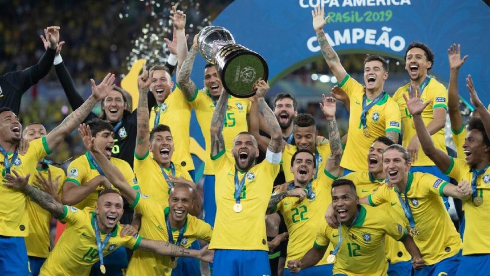 CHÍNH THỨC: Brazil thay Argentina và Colombia làm chủ nhà Copa America 2021