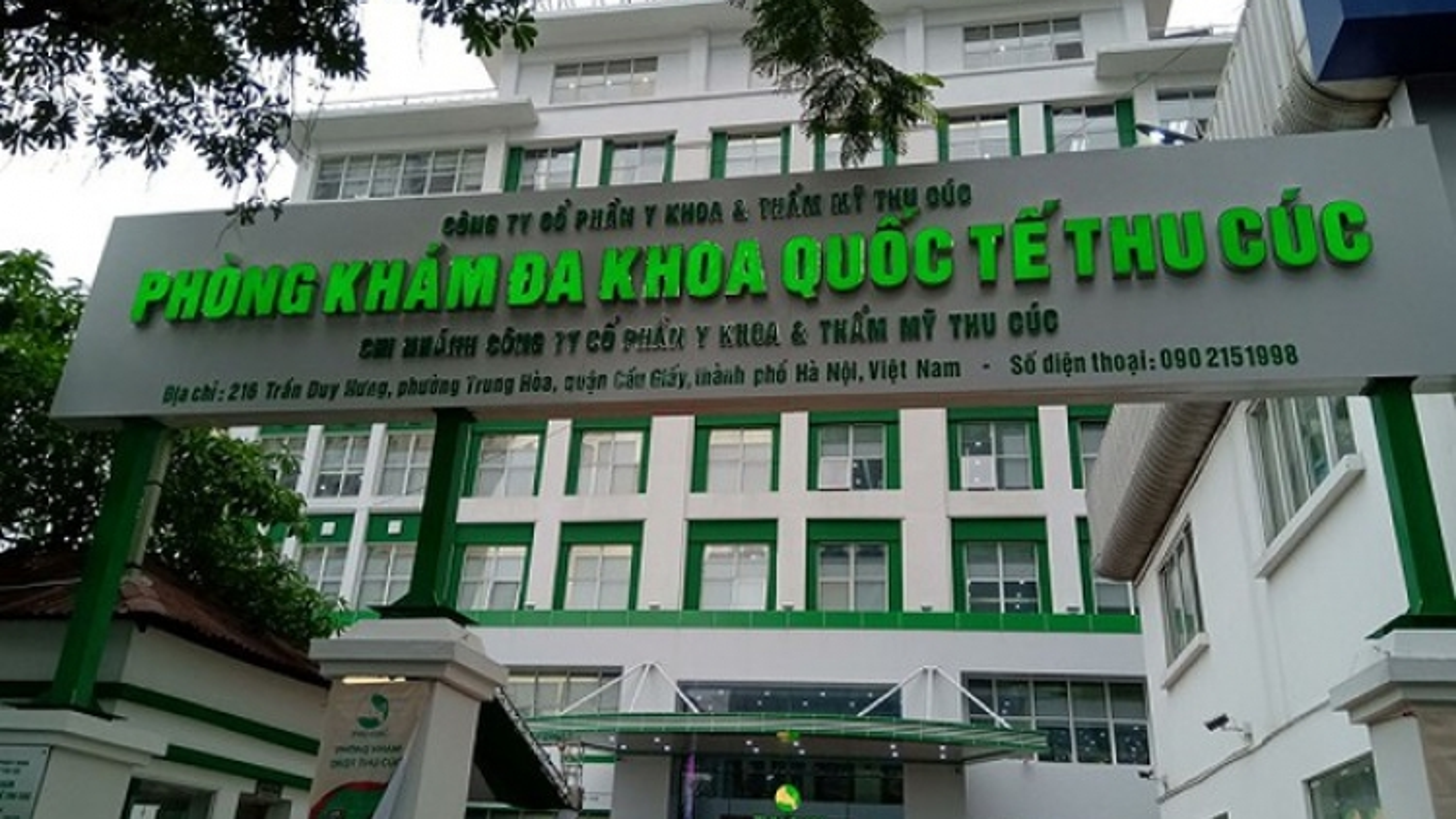 Hà Nội đình chỉ hoạt động Phòng khám Đa khoa quốc tế Thu Cúc
