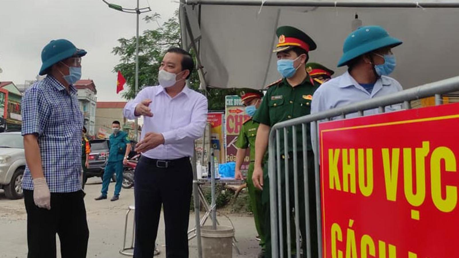 Hà Nội: Giao công an lập hồ sơ xử lý người không khai báo y tế