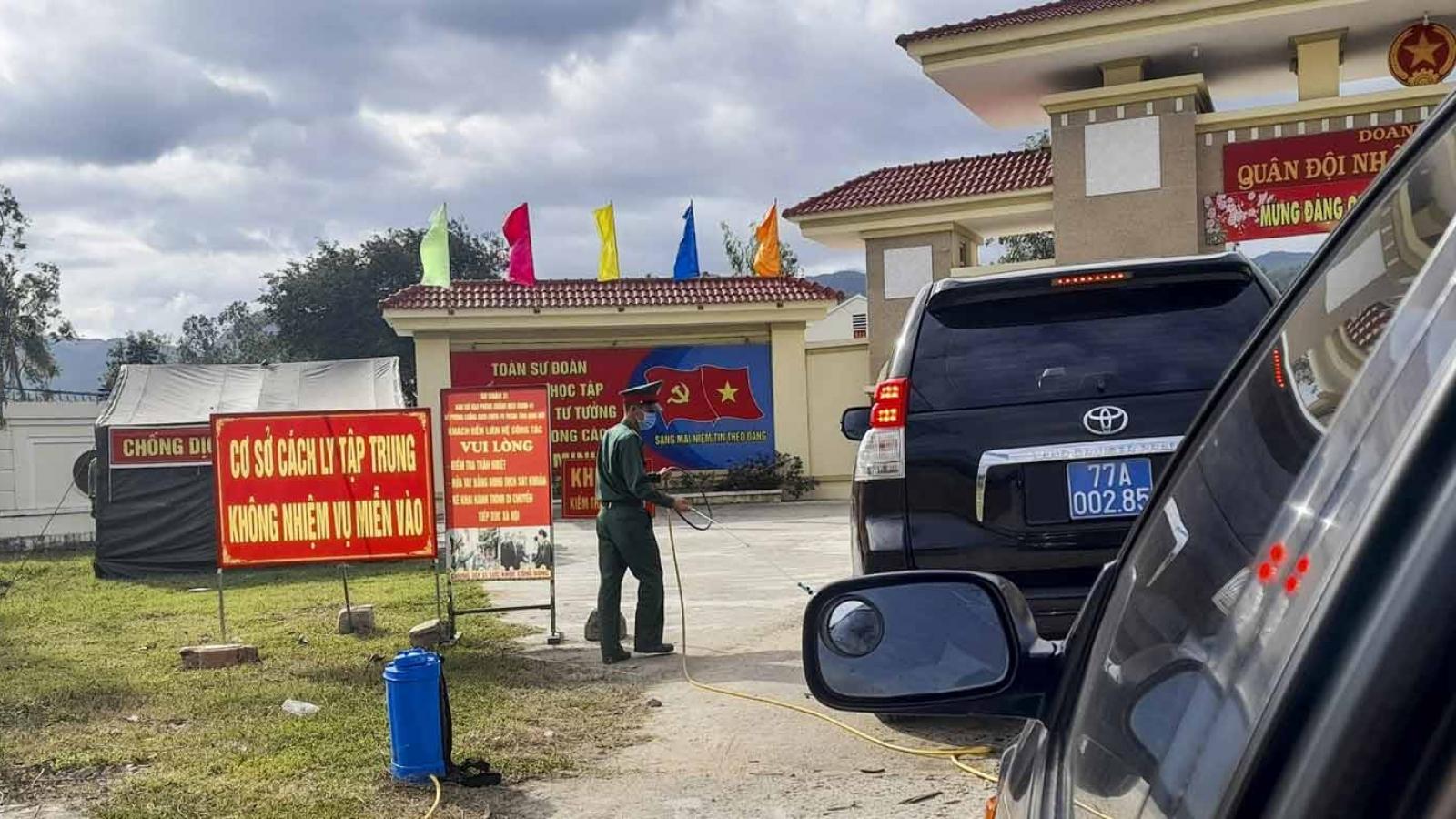 Bình Định: Tiếp nhận 1 thuyền viên nước ngoài nghi mắc COVID-19