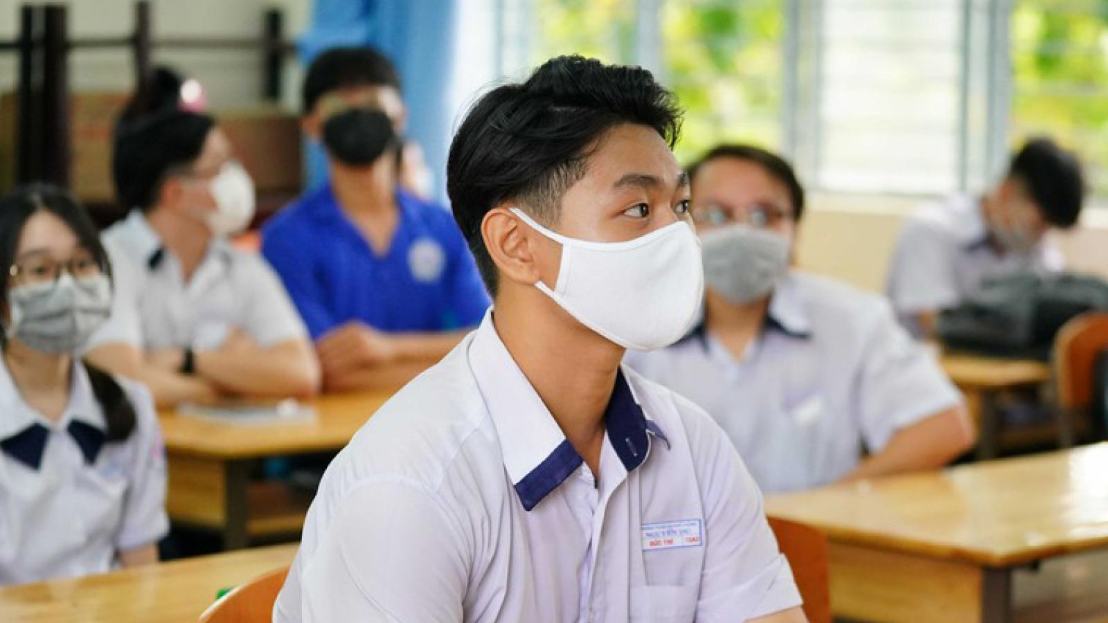 Thi tốt nghiệp THPT 2021: Dự kiến thành lập các điểm thi cho thí sinh cách ly
