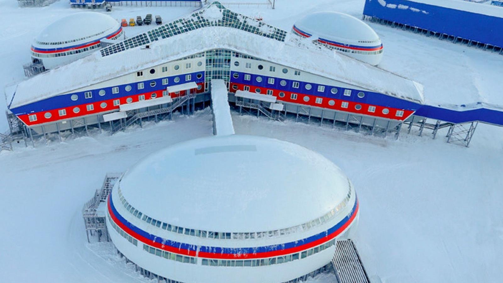 Căn cứ quân sự giúp Nga phô trương sức mạnh ở Bắc Cực