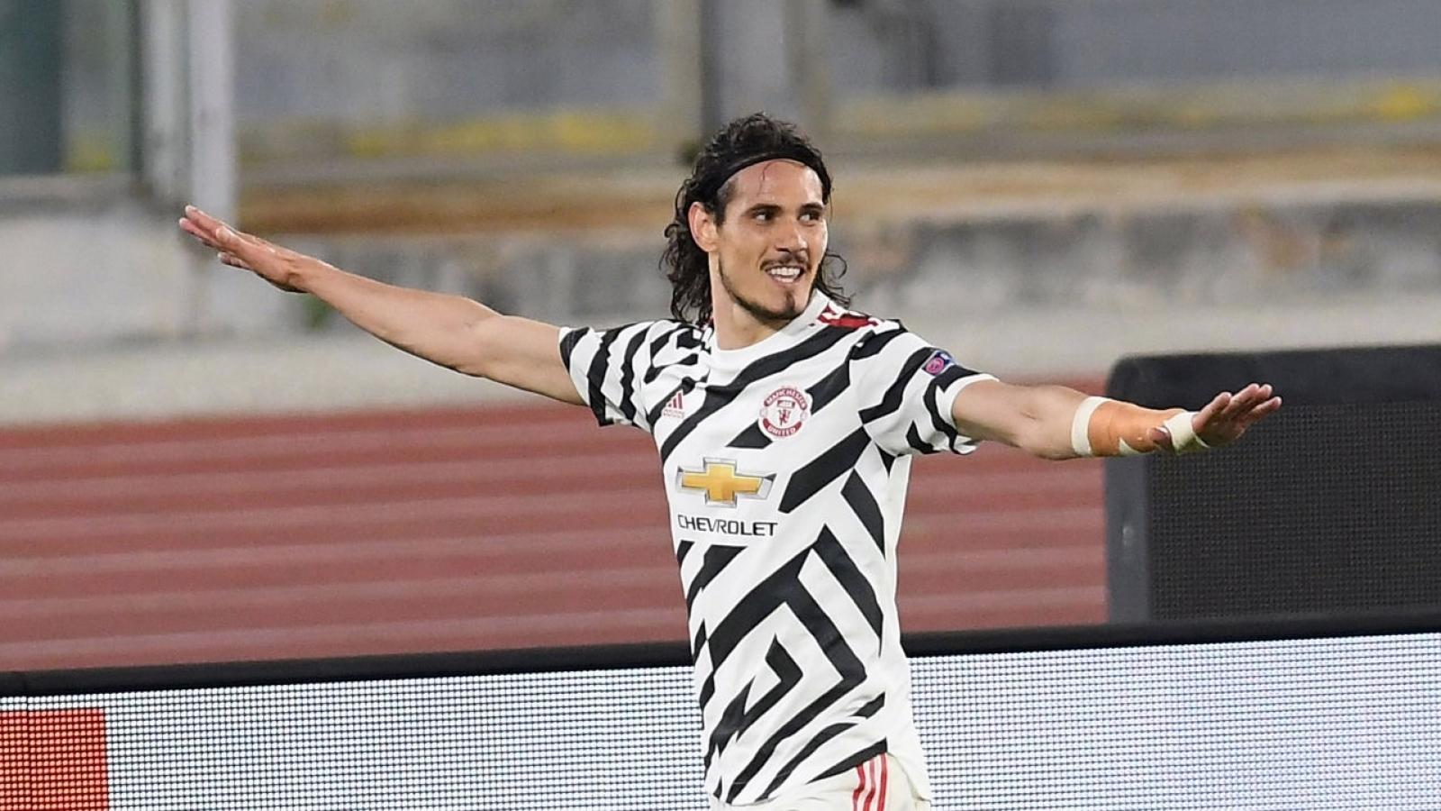 Cavani lập kỷ lục ấn tượng sau khi giúp MU vào chung kết Europa League