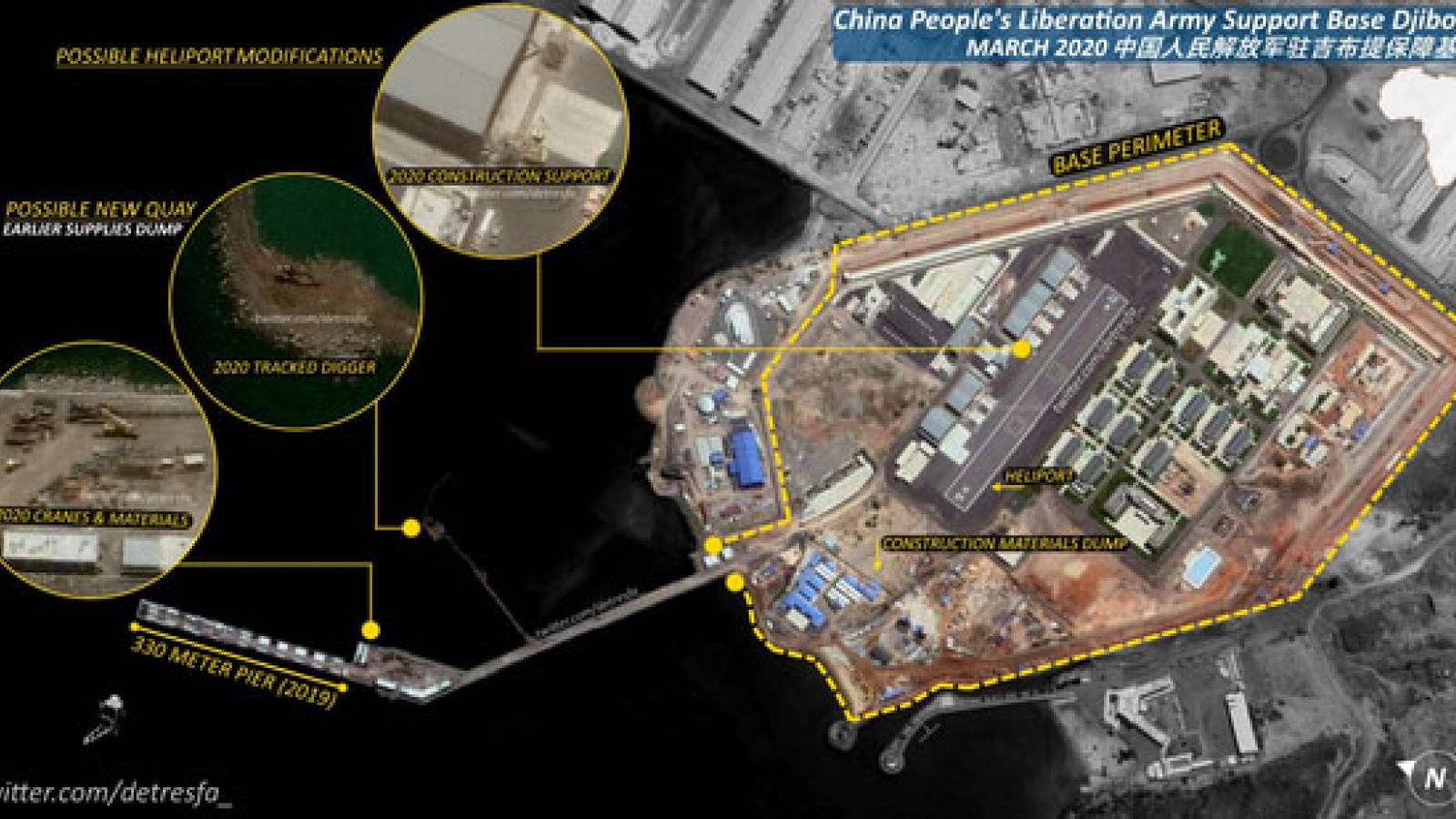 Trung Quốc muốn xây dựng căn cứ hải quân lớn ở Đại Tây Dương