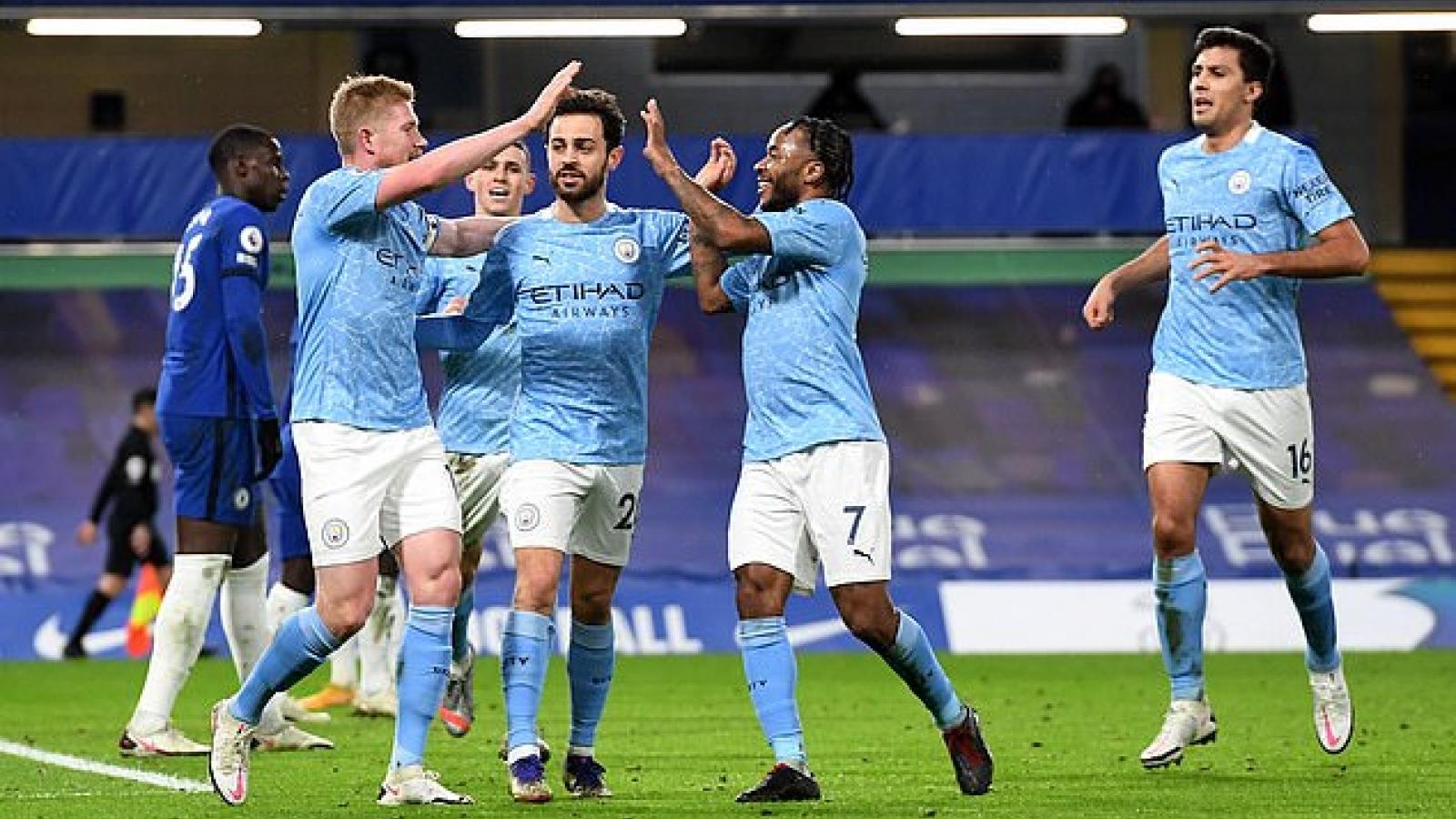 5 trận chiến quyết định giúp Man City vô địch Ngoại hạng Anh 2020/2021