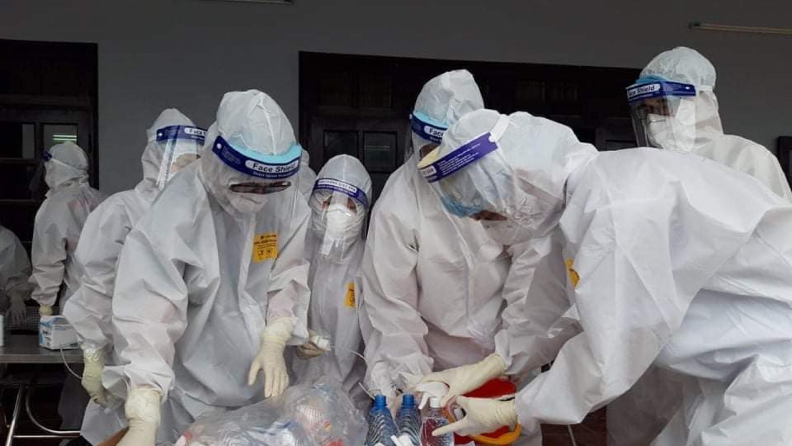 6 giờ qua, Việt Nam có thêm 56 ca mắc COVID-19 mới trong nước
