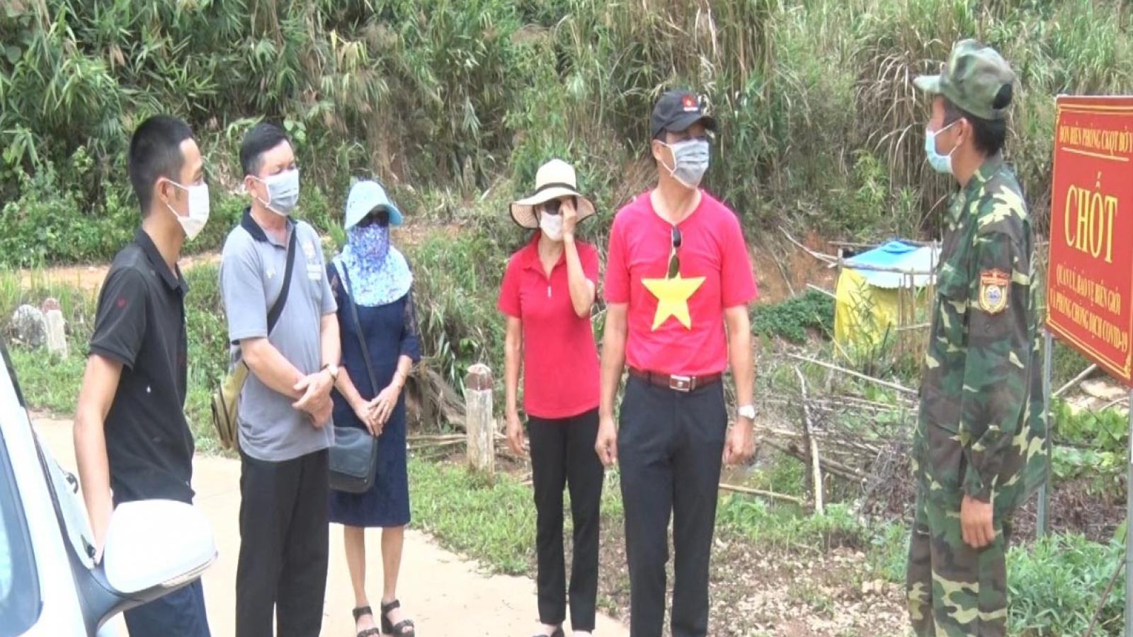 Biên phòng Kon Tum được tăng cường lực lượng phòng dịch COVID-19