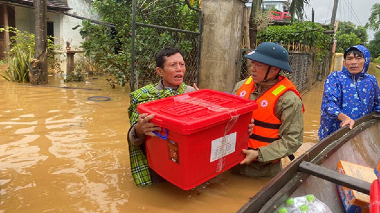 Hội Chữ thập đỏ Việt Namtrợ giúp 1,1 triệu người ứng phó thiên tai và đại dịch Covid-19