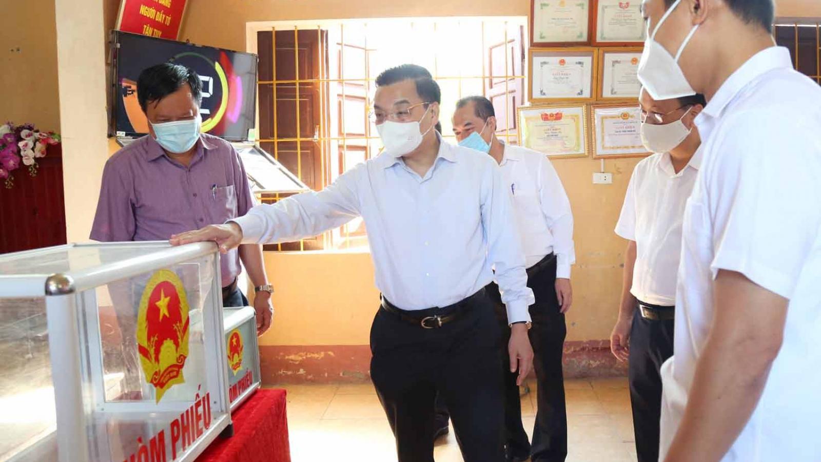 Chủ tịch Hà Nội: Phải cókịch bản đểbầu cử không bị gián đoạn vì dịch Covid-19