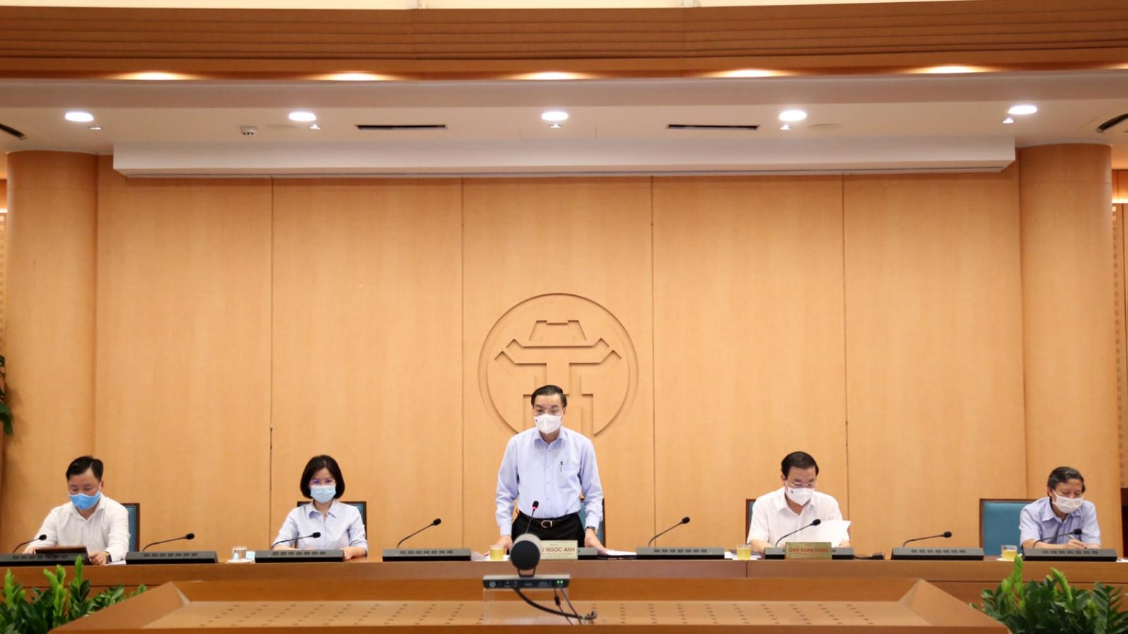 Chủ tịch TP Hà Nội: Kiểm soát dịch Covid-19 phải hối hả, nếu hành chính là không theo kịp